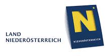 """Logo des Landes Niederösterreich mit dem Text """"Land Niederösterreich"""""""
