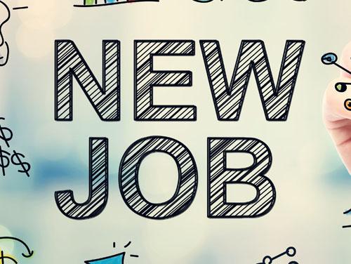 """Bild mit der Aufschrift """"New Job"""""""