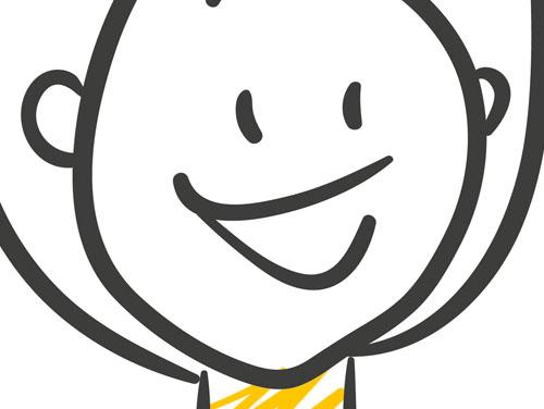 Ein lachender Smiley